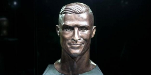 Busto de Cristiano Ronaldo es recreado
