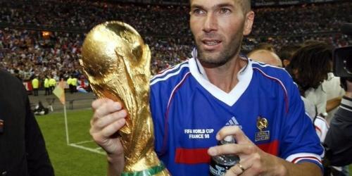 Camiseta de Zidane de la final Francia 1998 será subastada