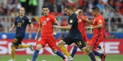 (VIDEO) Copa Confederaciones, Chile no pasó del empate con Australia y enfrentará a Portugal