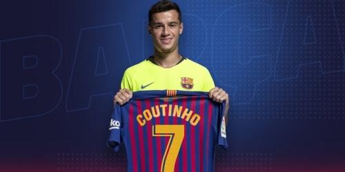 Coutinho jugará con el 7 la próxima temporada con el Barcelona