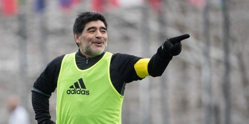 "Diego Maradona: ""No fue penal. Lucas Vázquez se vio empujado a tirarse"""
