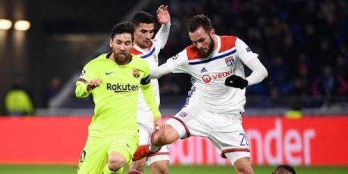 Domicilios de jugadores del Lyon fueron asaltados durante el partido contra el FC Barcelona