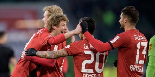 El Bayer Leverkusen le ganó al Wolfsburgo de visita