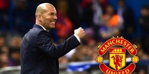 El Manchester United prepara una oferta para convencer a Zidane