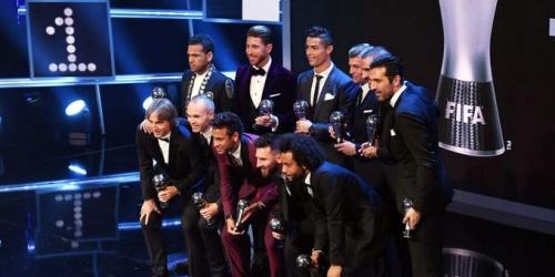 El mejor once de la temporada según la FIFA