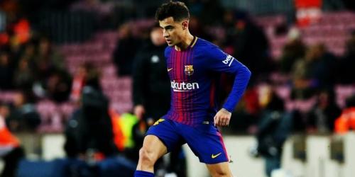 ¡El Primer Gol de COUTINHO con el Barça!
