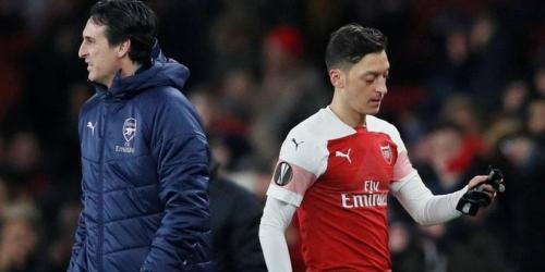 """Emery: """"Lo mejor para Ozil es dejar el Arsenal"""""""