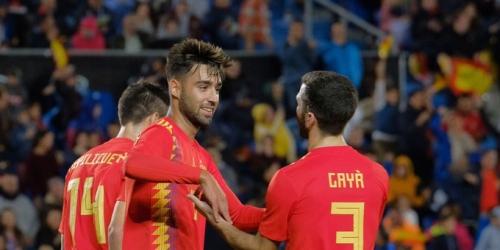 España derrota por 1 a 0 a Bosnia en partido amistoso