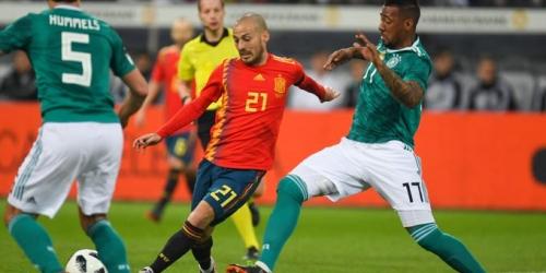 (VIDEO) España planta cara al actual campeón del mundo Alemania