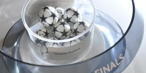 Estas son las llaves de cuartos de final de la Champions League