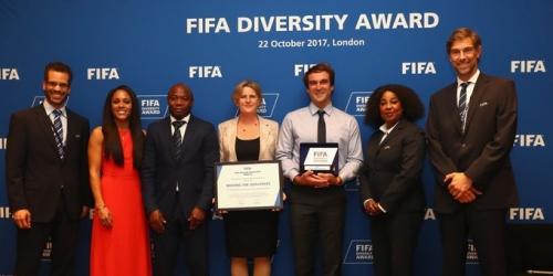 FIFA: Entrega premio Diversidad 2017