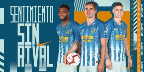 (FOTO) El Atlético de Madrid presenta su tercera equipación