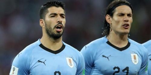 (FOTO) Lista de convocados de Uruguay para medir a México