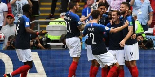 Francia se encuentra primero en el ránking FIFA