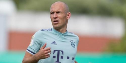 Inicia la Bundesliga con un Arjen Robben muy animado para nuevos retos