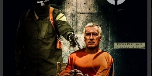 ISIS: amenaza a Didier Deschamps