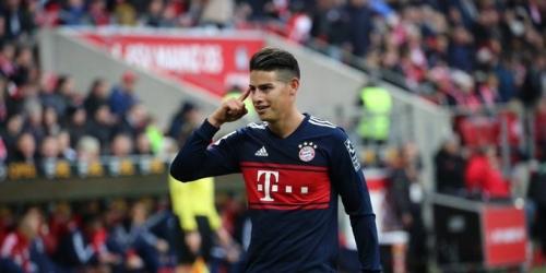 JAMES el mejor jugador de Enero en el Bayern Munich