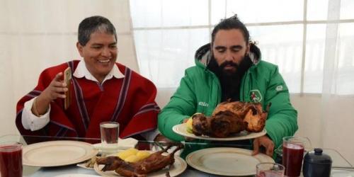 Juan Pablo Sorín se enamoró de Ecuador