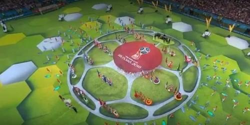 La espera terminó, Rusia abre el Mundial con gran celebración musical en su inauguración