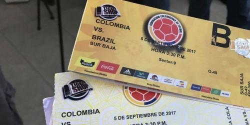 La FIFA investiga a Colombia por reventa de boletos