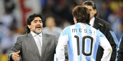 La leyenda Pelé considera a Maradona mejor jugador que Messi