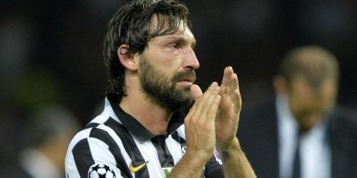 La leyenda Pirlo se despide del fútbol en partido amistoso