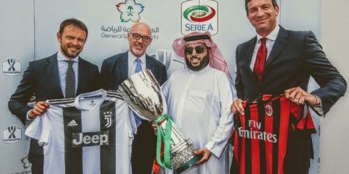 La Supercopa de Italia tiene sede en Arabia Saudita