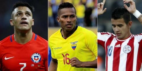 Las cinco figuras sudamericanas que hoy no estarían en el Mundial de Rusia 2018
