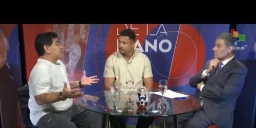 Las leyendas de fútbol Maradona y Ronaldo comentan sobre la selección de Brasil
