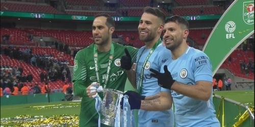 (VIDEO) Manchester City campeón de la Copa de la Liga Inglesa
