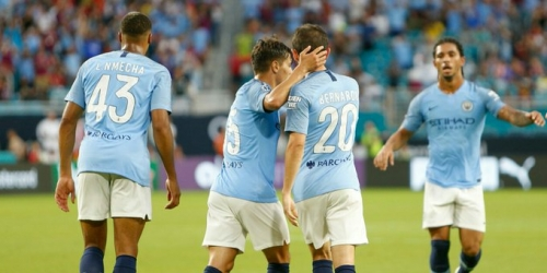 Manchester City se despide del International Champions Cup con una victoria