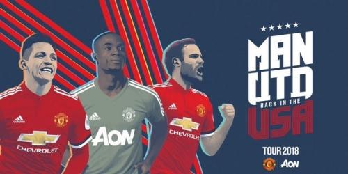 Manchester United iniciará su pretemporada ante el América