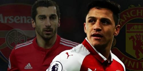 Manchester United no firmará con Alexis Sánchez hasta que Mkhitaryan vaya al Arsenal