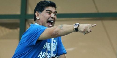 """Maradona critica a la AFA y lo califica como """"desastre"""""""