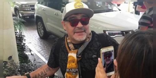 """Maradona: """"Siempre me encantó el fútbol mexicano"""""""