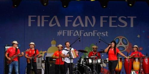 Más de 2.5 millones de personas se suman a la fiebre del fútbol en el FIFA Fan Fest