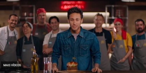 McDonald's y Neymar juntos en un comercial mundialista