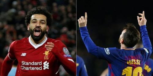 Messi en la pelea por la Bota de Oro