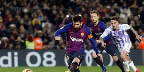 Messi tiene un alto porcentaje en los fallos de penaltis