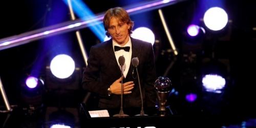 Modric cierra el año ganando el premio The Best