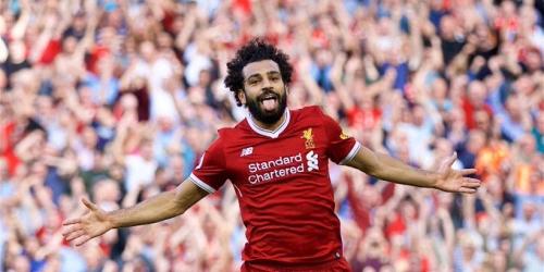 Mohamed Salah se encuentra feliz en el Liverpool