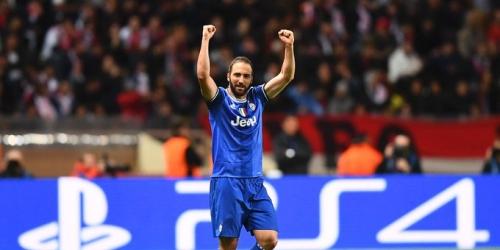 (VIDEO) Champions League, la Juve superó al Mónaco con un doblete de Higuaín