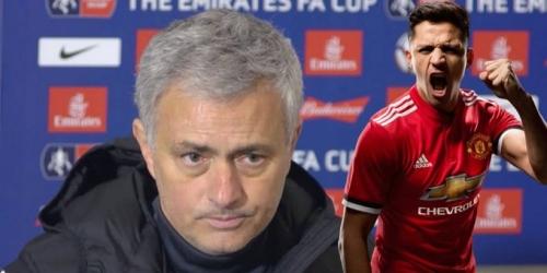 """Mourinho: """"Alexis nunca me ha dicho que se quiera ir"""""""