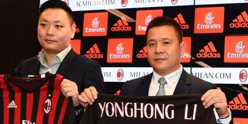 New York Times: Yonghong Li es un impostor en el AC Milán