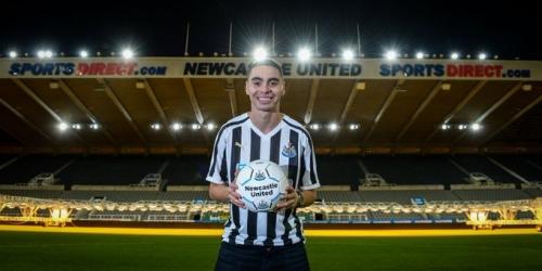 (OFICIAL) Almirón nuevo jugador del Newcastle