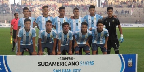 (OFICIAL) Argentina campeón en el Sudamericano Sub 15