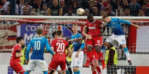 (OFICIAL) Arsenal perdió frente al Colonia y perdió su invicto en Europa League