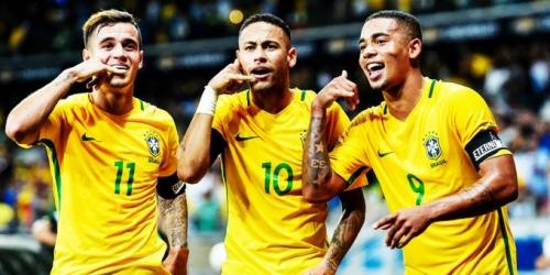 (OFICIAL) Brasil goleó 3-0 a Austria en amistoso