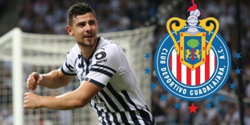 (OFICIAL) Chivas oficializa la contratación de Luis Madrigal