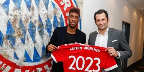 (OFICIAL) Coman renueva con el Bayern Munich hasta el 2023